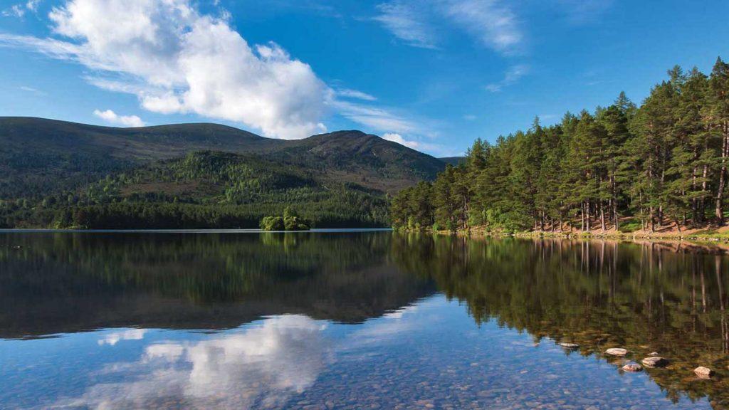 Loch en Eilein highland perthshire picnic spots scotland