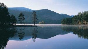 Loch an Eilein - one of the most romantic lochs in Scotland