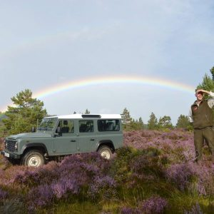 Land Rover Tours at Rothiemurchus