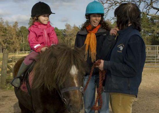 Wee Womble pony ride, Rothiemurchus