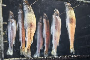 Smoked Trout from Rothiemurchus Farm Shop, near Aviemore