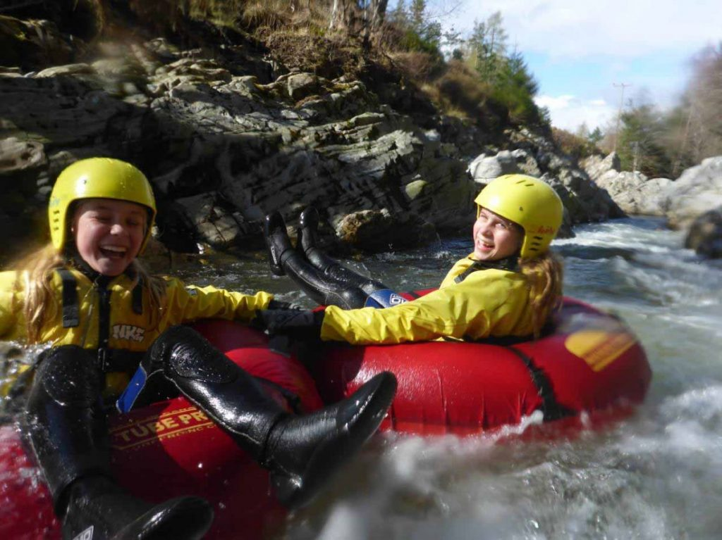 River Tubing at Rothiemurchus near Aviemore