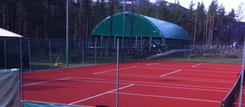 Tennis Courts, including new all weather court