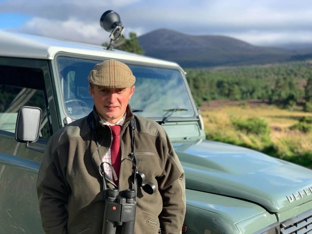 Peter Ferguson - biodiversity manager at Rothiemurchus